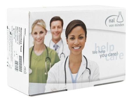 Test NADAL® Gonorrhea (10 testów) - szybki test do wykrywania antygenu Niesseria Gonorrhoeae