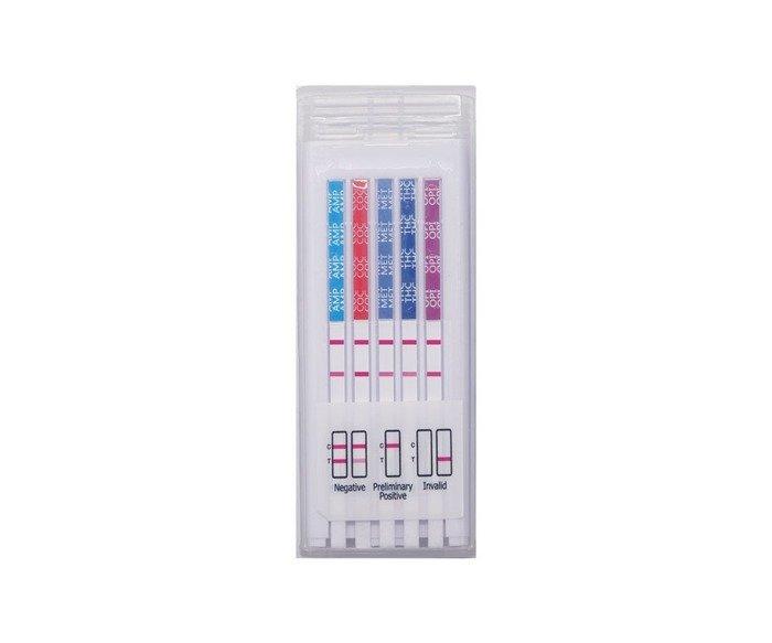 Test Narkotykowy Multi 5 T-Cube ze śliny - 5 testów